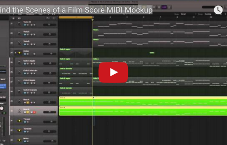 Behind the Scenes of a Film Score MIDI Mockup